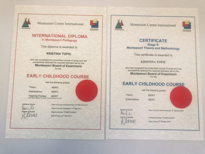 Certified Montessori Program Our Ultimate Goal